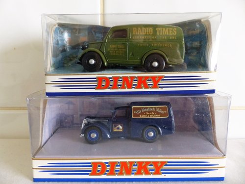 FORD E83W & COMMER 8CWT VAN-RADIO-HMV 1:43 SCALE For Sale (picture 1 of 6)