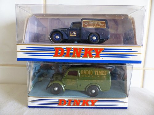 FORD E83W & COMMER 8CWT VAN-RADIO-HMV 1:43 SCALE For Sale (picture 2 of 6)