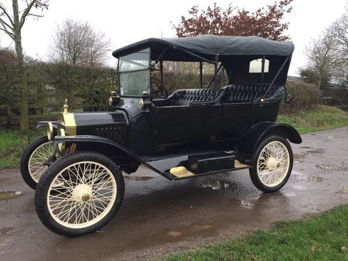 1915 RHD Model T Ford Tourer For Sale (picture 1 of 3)