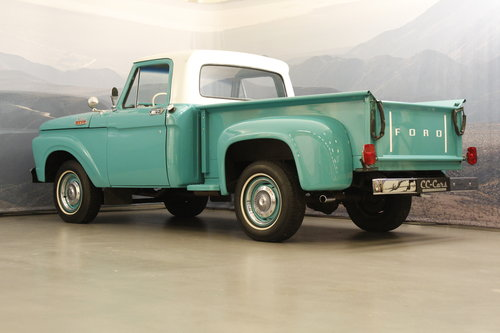 1963 Ford F100 V8 Pick-Up Custom Cap For Sale (picture 2 of 6)