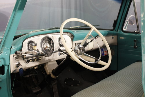 1963 Ford F100 V8 Pick-Up Custom Cap For Sale (picture 4 of 6)