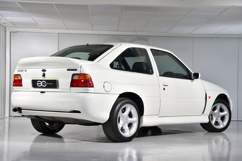 1995 Ex Concours Escort RS Cosworth - Aero Delete - *11K Miles* SOLD (picture 3 of 6)