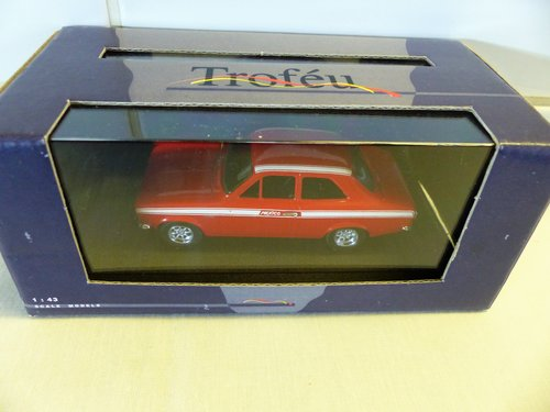 1971 FORD ESCORT MEXICO-RED TROFEU 1:43 SCALE For Sale (picture 3 of 6)