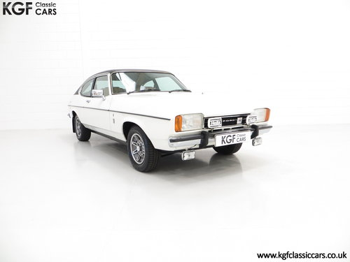 1977 A Rare Manual Range Topping Ford Capri Mk2 3.0 Ghia SOLD (picture 1 of 6)
