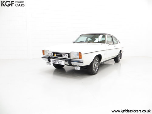 1977 A Rare Manual Range Topping Ford Capri Mk2 3.0 Ghia SOLD (picture 2 of 6)