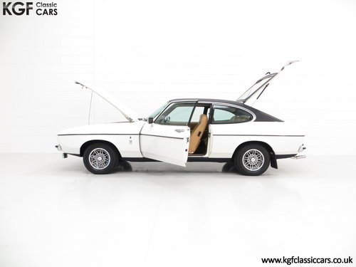 1977 A Rare Manual Range Topping Ford Capri Mk2 3.0 Ghia SOLD (picture 3 of 6)
