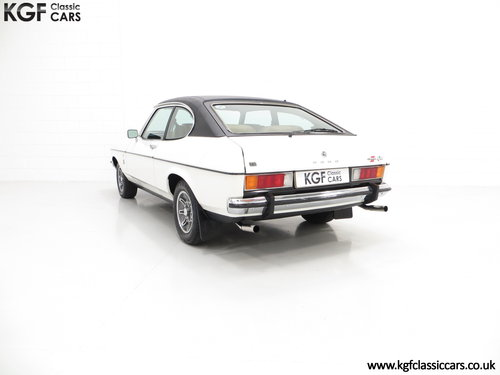 1977 A Rare Manual Range Topping Ford Capri Mk2 3.0 Ghia SOLD (picture 4 of 6)