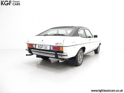 1977 A Rare Manual Range Topping Ford Capri Mk2 3.0 Ghia SOLD (picture 5 of 6)