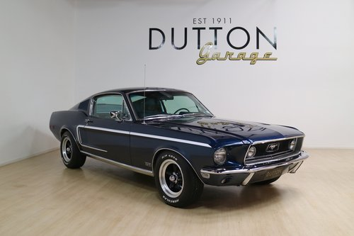 1968 Ford Mustang GT Fastback For Sale (picture 1 of 6)