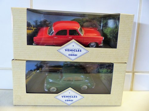 FORD ZEPHYR & MORRIS MINOR-1:43 SCALE MODELS For Sale (picture 1 of 6)