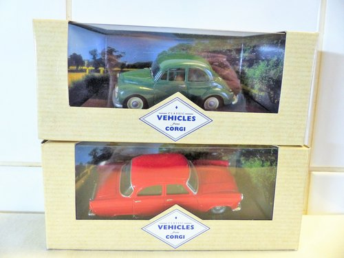 FORD ZEPHYR & MORRIS MINOR-1:43 SCALE MODELS For Sale (picture 2 of 6)