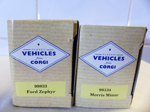 FORD ZEPHYR & MORRIS MINOR-1:43 SCALE MODELS For Sale (picture 5 of 6)