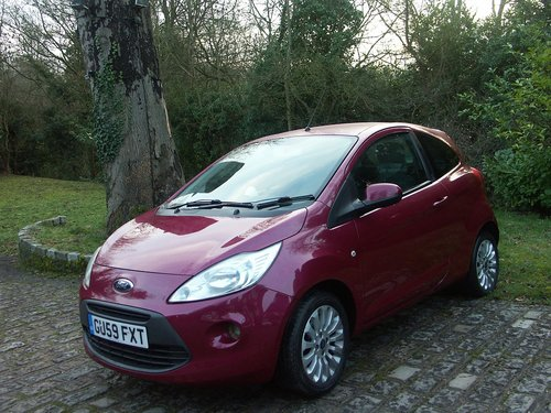 2009 FORD KA TITANIUM SOLD (picture 1 of 6)