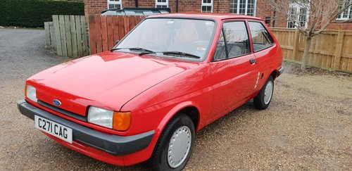 **MARCH AUCTION** 1985 Ford Fiesta For Sale by Auction (picture 1 of 1)