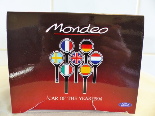 """1994 FORD MONDEO-""""CAR OF THE YEAR"""" DIECAST For Sale (picture 2 of 6)"""