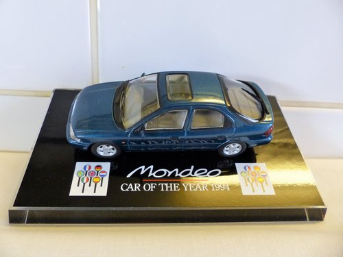 """1994 FORD MONDEO-""""CAR OF THE YEAR"""" DIECAST For Sale (picture 3 of 6)"""