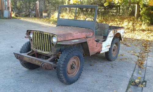 1943 FORD GPW WW2 MILITARY JEEP For Sale (picture 1 of 6)