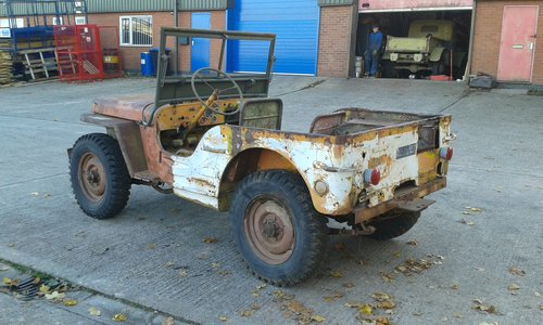 1943 FORD GPW WW2 MILITARY JEEP For Sale (picture 3 of 6)