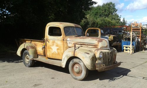 1942 FORD 1GC MILIARY PICKUP For Sale (picture 1 of 6)