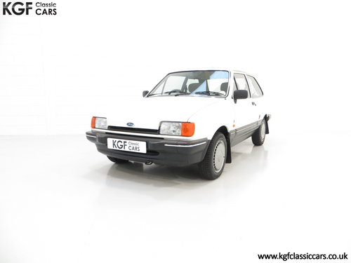1987 An Astonishing Ford Fiesta Mk2 1.4 Ghia with 34,318 Miles SOLD (picture 2 of 6)