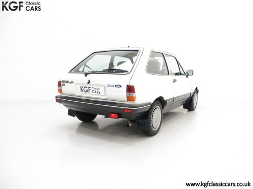 1987 An Astonishing Ford Fiesta Mk2 1.4 Ghia with 34,318 Miles SOLD (picture 5 of 6)