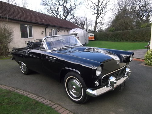 1955 Ford Thunderbird, Convertible, V8, Manual Gearbox SOLD (picture 1 of 6)