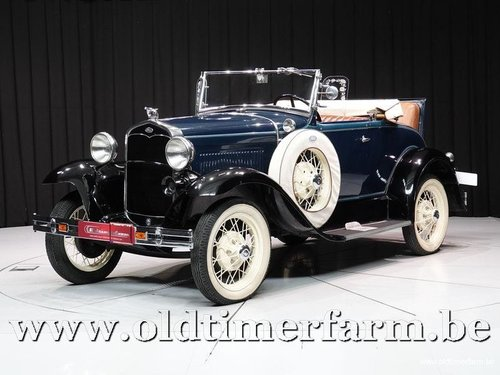 1931 Ford Model A Roadster '31 For Sale (picture 1 of 6)