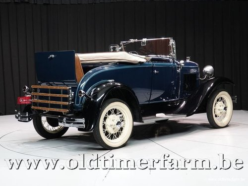 1931 Ford Model A Roadster '31 For Sale (picture 2 of 6)