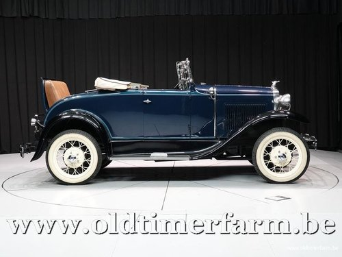 1931 Ford Model A Roadster '31 For Sale (picture 3 of 6)