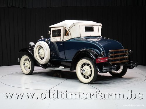 1931 Ford Model A Roadster '31 For Sale (picture 6 of 6)