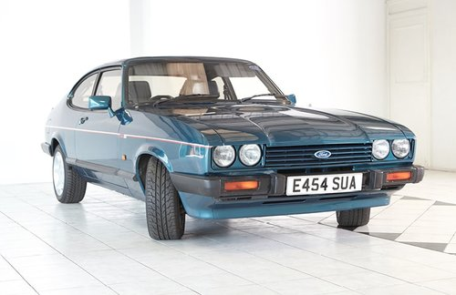 1987 Ford Capri 280 Brooklands For Sale (picture 2 of 6)