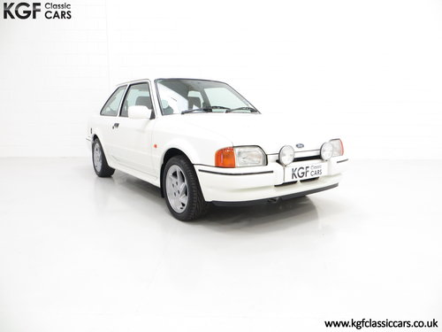 1989 A Fabulous Ford Escort RS Turbo Series 2 with 40,370 Miles SOLD (picture 1 of 6)