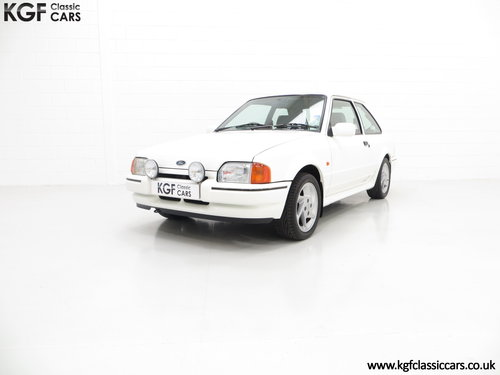 1989 A Fabulous Ford Escort RS Turbo Series 2 with 40,370 Miles SOLD (picture 2 of 6)