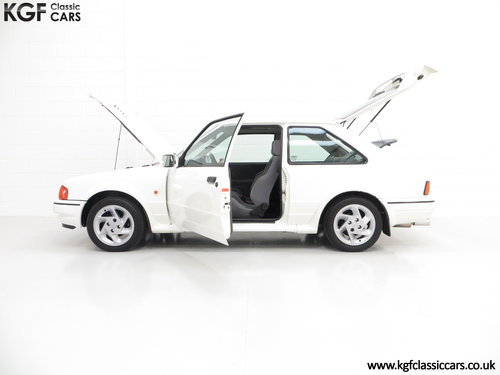 1989 A Fabulous Ford Escort RS Turbo Series 2 with 40,370 Miles SOLD (picture 3 of 6)