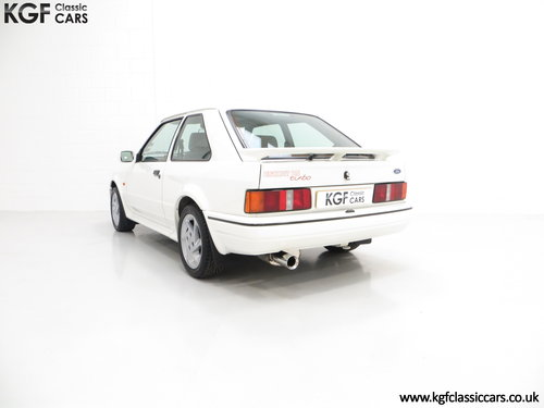 1989 A Fabulous Ford Escort RS Turbo Series 2 with 40,370 Miles SOLD (picture 4 of 6)
