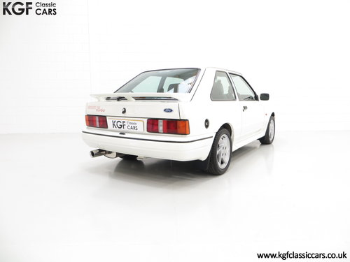 1989 A Fabulous Ford Escort RS Turbo Series 2 with 40,370 Miles SOLD (picture 5 of 6)