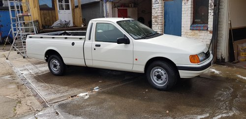 1991 STUNNING RESTORED FORD P100 PICK UP 1.8 TD For Sale (picture 4 of 6)