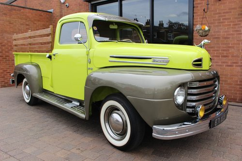 1950 Ford F-2 Stepside Pickup V8 - Frame-off Restoration SOLD (picture 1 of 6)