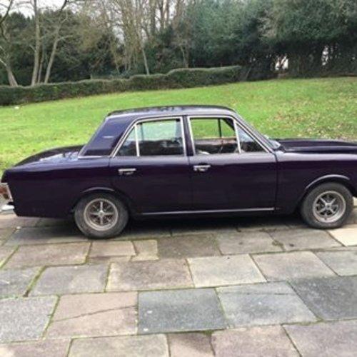 1969 CORTINA 1600E 3 owner Aubergine For Sale (picture 1 of 3)