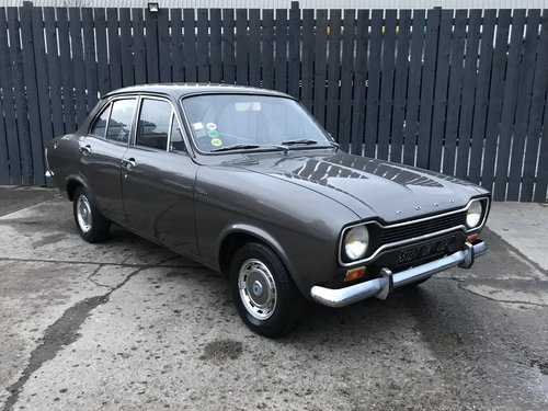 1973 ford escort mk1 saloon *5000*miles from new SOLD (picture 1 of 6)