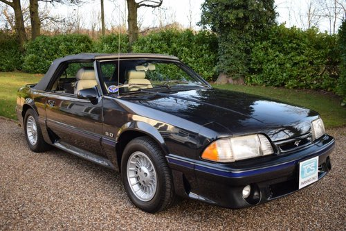 Ford Mustang 5.0 GT Convertible LHD 1988 For Sale (picture 1 of 6)