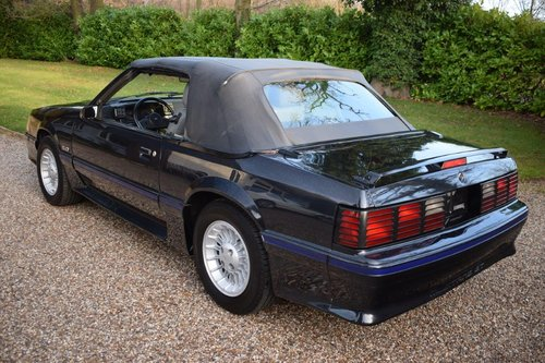 Ford Mustang 5.0 GT Convertible LHD 1988 For Sale (picture 2 of 6)