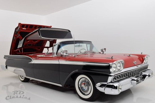 1959 Ford Fairlane 500 Galaxie Skyliner / Frame Off For Sale (picture 1 of 6)