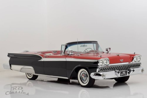 1959 Ford Fairlane 500 Galaxie Skyliner / Frame Off For Sale (picture 2 of 6)