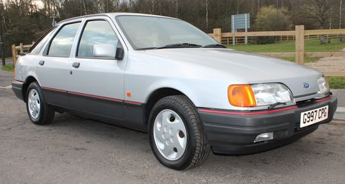 1989 Ford Sierra 2.9 GLS 4X4 5 Speed Manual 12,336 Miles  SOLD (picture 1 of 6)
