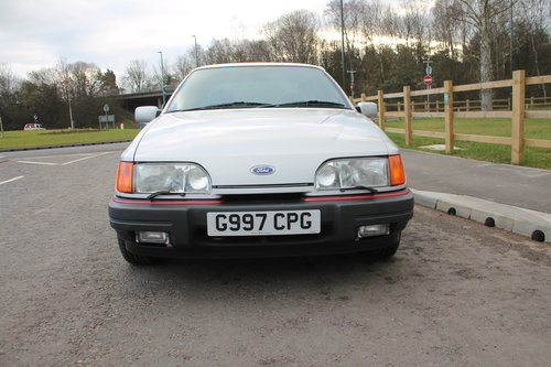 1989 Ford Sierra 2.9 GLS 4X4 5 Speed Manual 12,336 Miles  SOLD (picture 2 of 6)