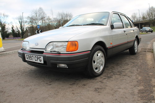 1989 Ford Sierra 2.9 GLS 4X4 5 Speed Manual 12,336 Miles  SOLD (picture 3 of 6)