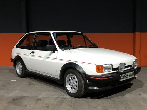 1985 ford fiesta xr 2 *mint restored* For Sale (picture 1 of 6)