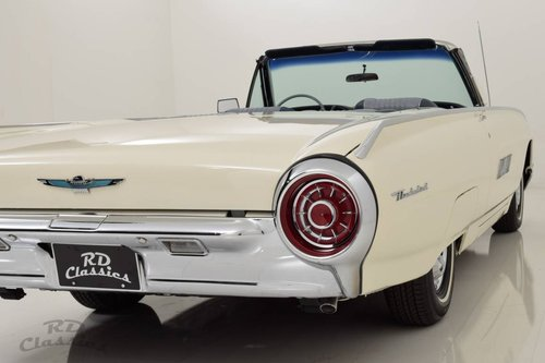1963 Ford Thunderbird Convertible For Sale (picture 1 of 6)