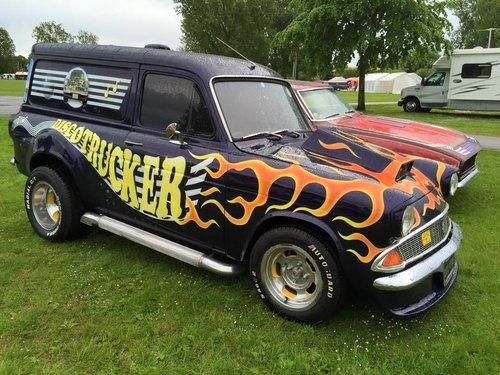 1967 Ford Anglia Custom Van Quot Discotrucker Quot For Sale Car